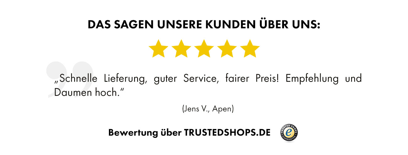 Trusted Shops Bewertung