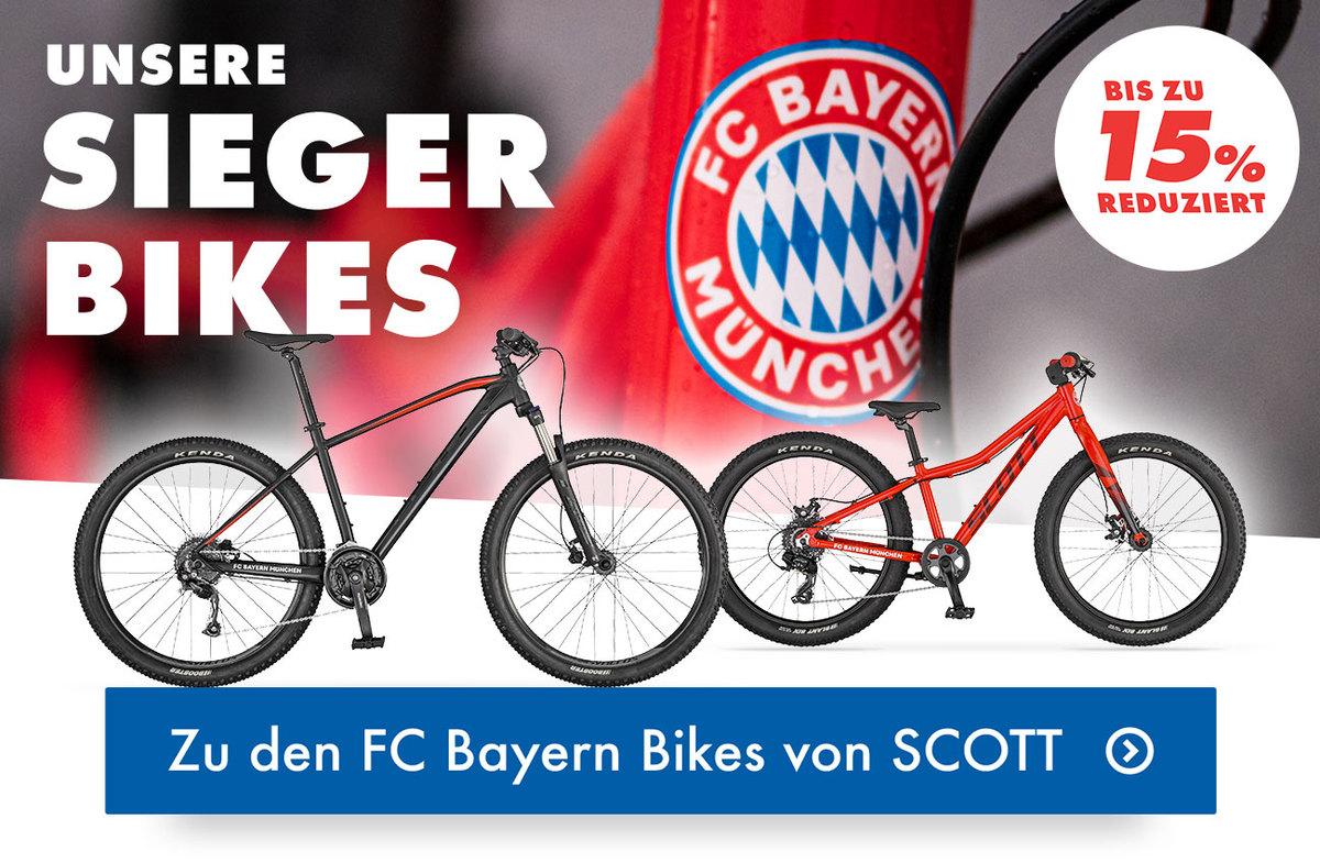 Hol dir jetzt dein FC Bayern Bike